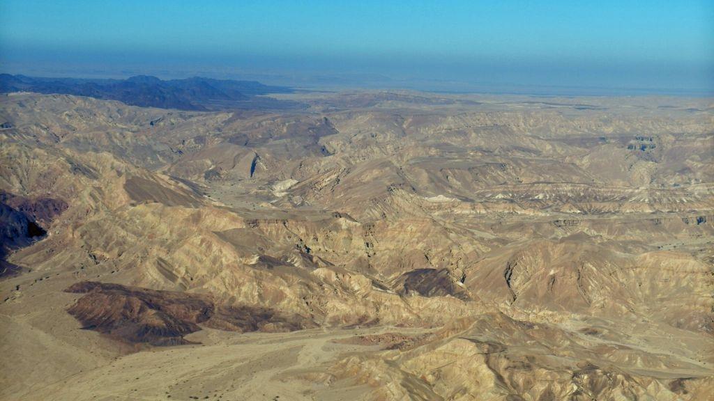 Rückflug Aqaba