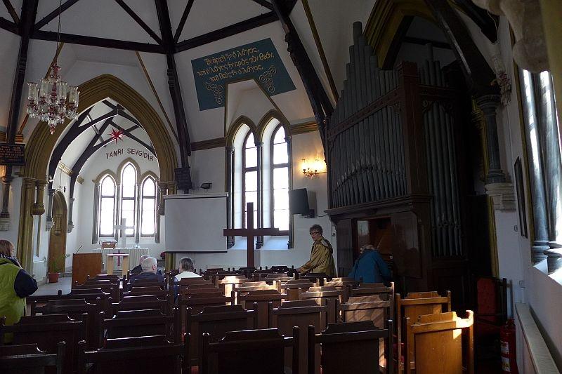 Die evangelische Kirche in Izmir