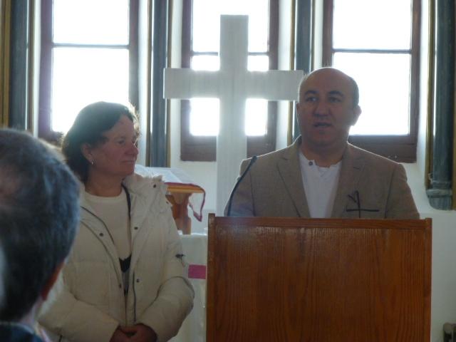Pastor Cevik und seine Frau