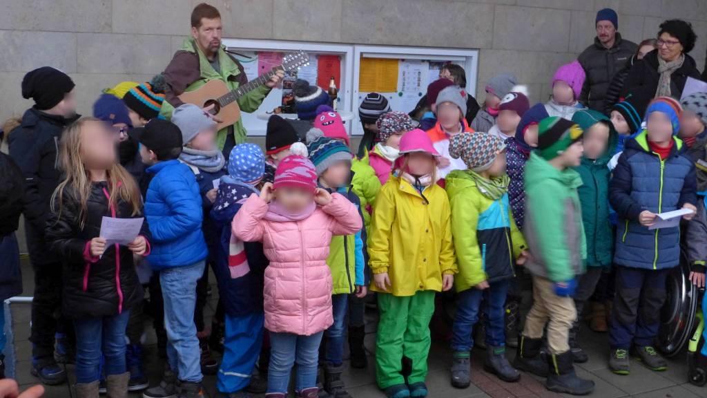 Chor der Grundschule Laineck