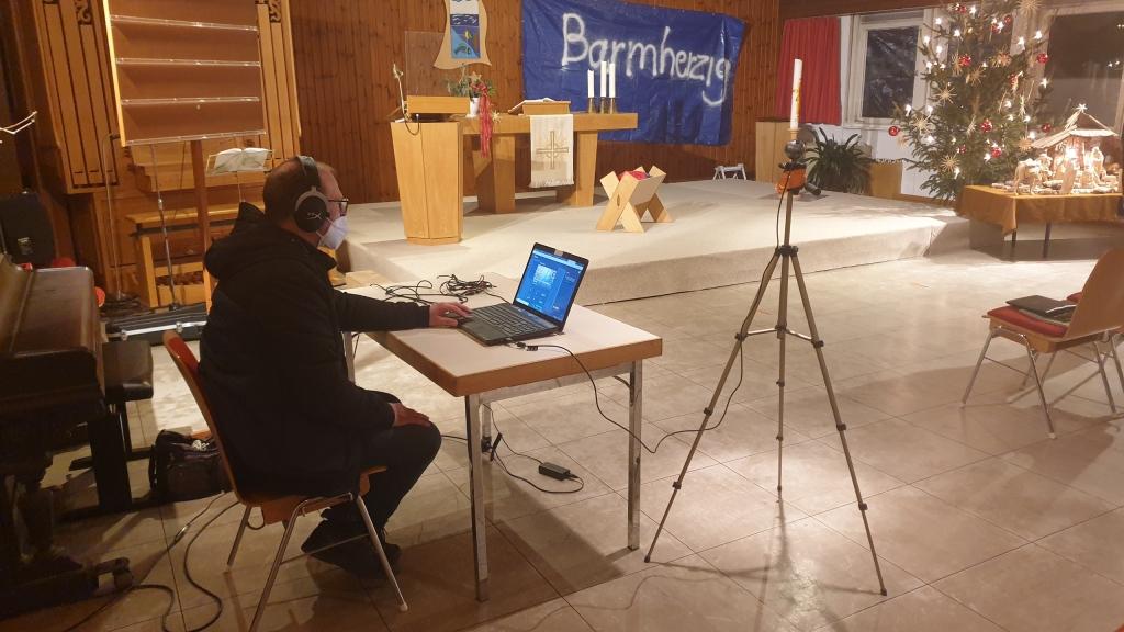 Vorbereitung zum ersten Live-Stream