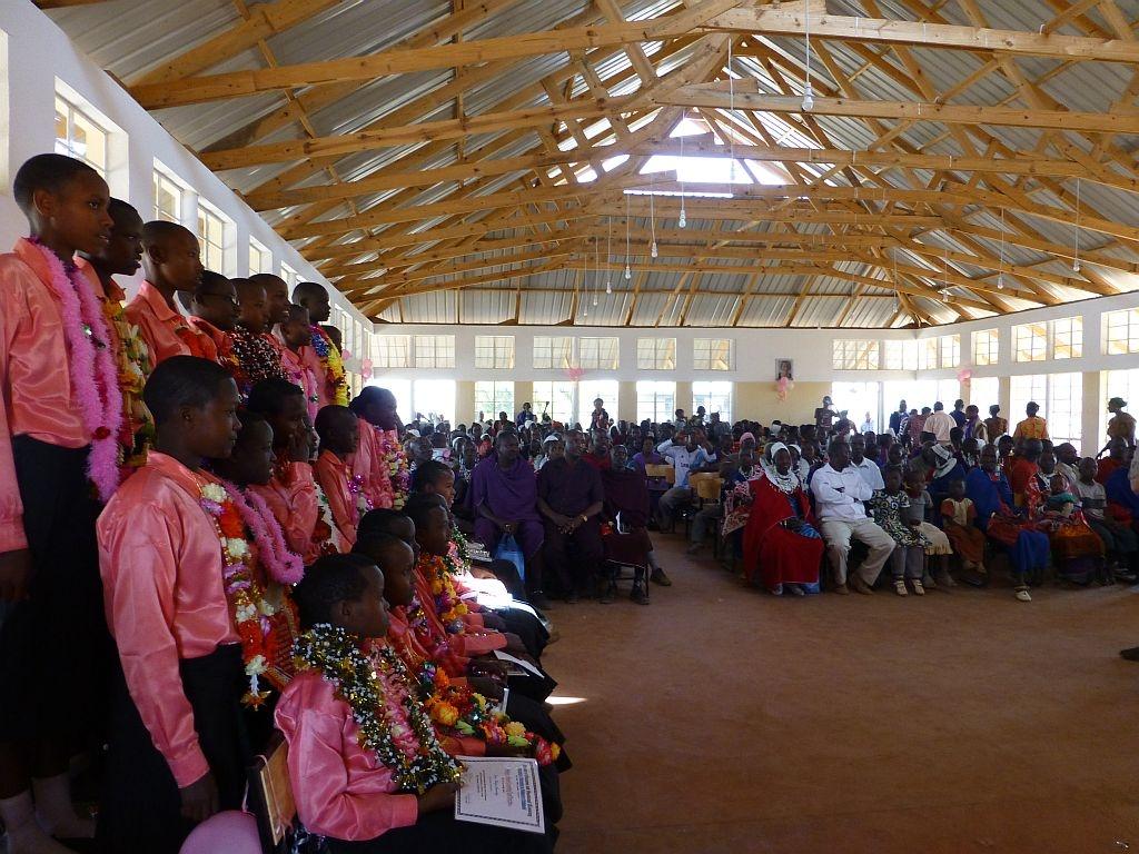 die neue Versammlungshalle