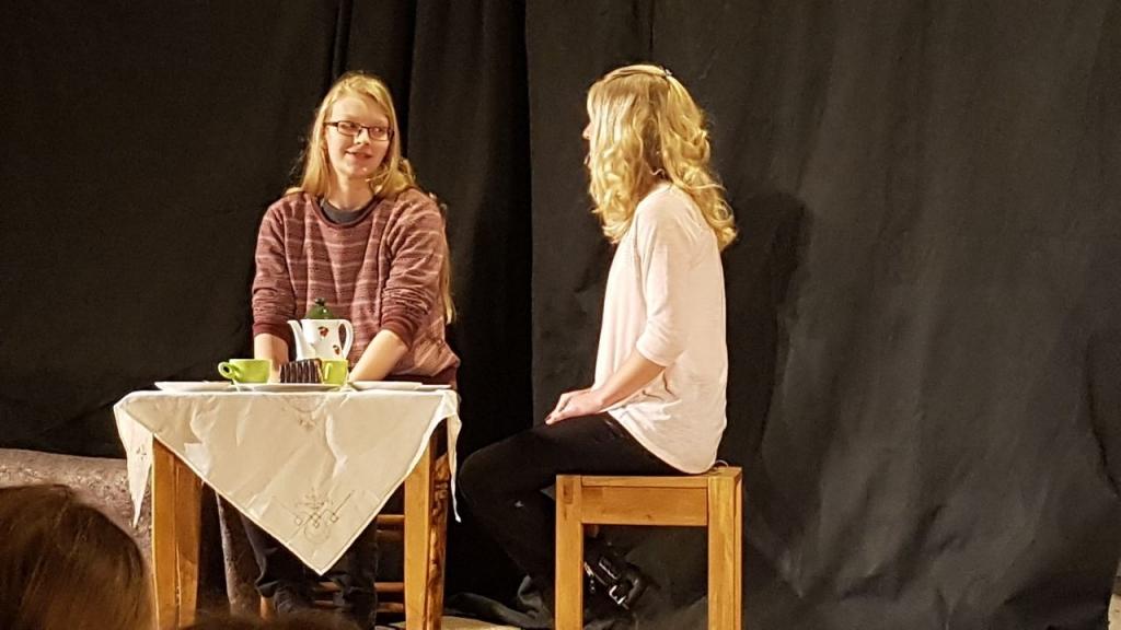 Maria und Rebekka