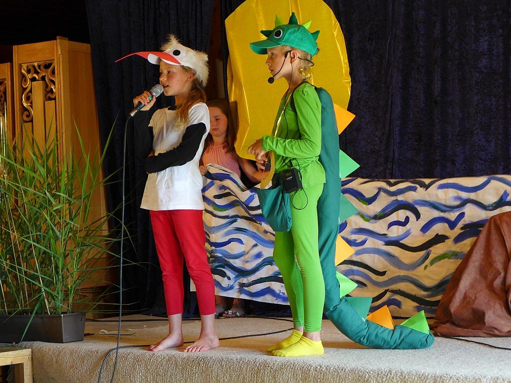 Tabaluga und der Storch Arafron