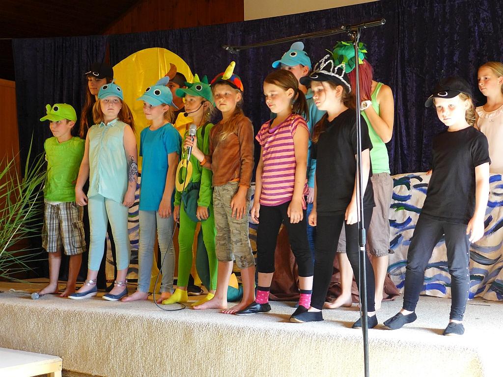 Sänger und Schauspieler: die Emotion-Kids