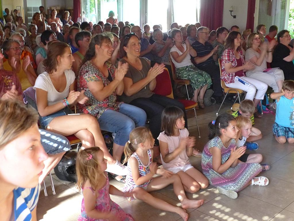 Viele Zuschauer, viel Beifall